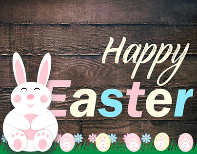 Animated Easter Banner