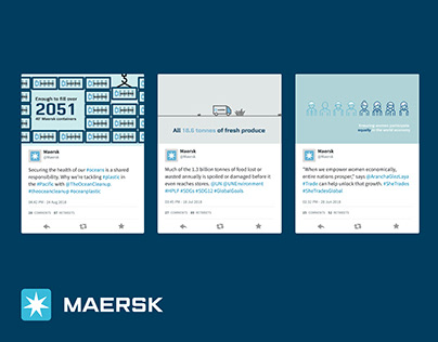 MAERSK: SOCIAL CHANNELS