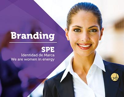 SPE - Identidad de Marca We Are Women in Energy