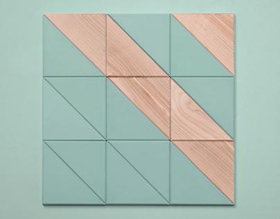 DIAGONAL Concrete Tile