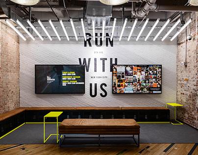 Social Wall Installation— Nike Running Flatiron Store