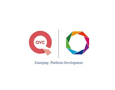 QVC Emerging Platform Development Team Logo Design