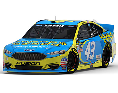 2016 #43 Waffle House Ford Fusion