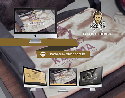Web Design | Website Barbearia Kadima