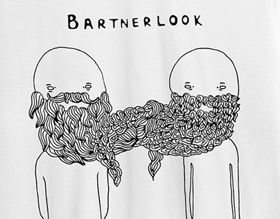illustration »Bartnerlook«