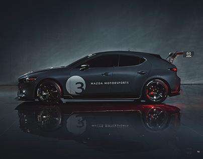 Mazda 3 TCR Press Kit