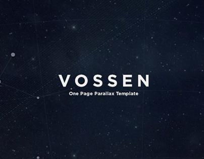 Vossen - One Page Parallax Theme