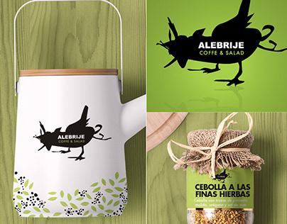 Alebrije Coffe & Salad - Logo and Branding Design
