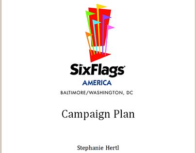 Six Flags America: Mini Public Relations Campaign Plan