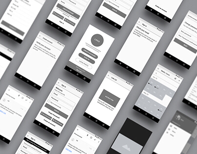 Photo backup wireframe