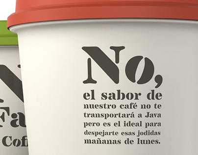 No Fake Coffee