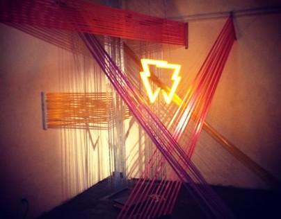 Installation for Undertones 8th anniversary design show