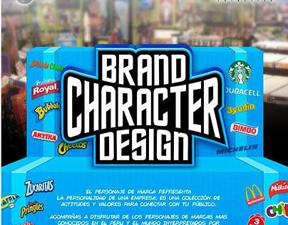 BRAND CHARACTER DESIGN