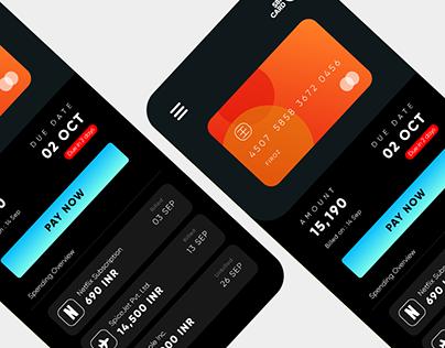 Credit Card UI Study