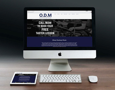 ODM Music // Website Design, Graphic Design and More