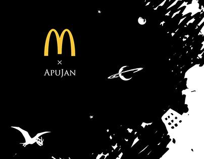 McDonald's X APUJAN 2020 聯名系列包裝