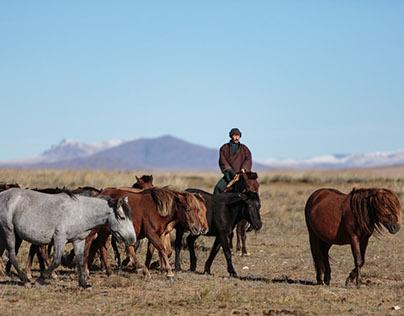Nomadic Life in Mongolia