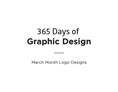 Logo Designs |Month of March|