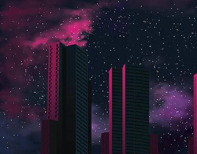 Urban Sunset / Concept Art