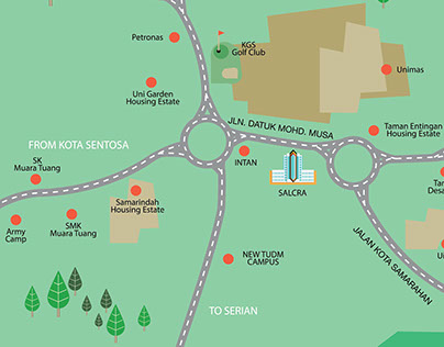 Map to The Summer Shopping Mall Ver.2