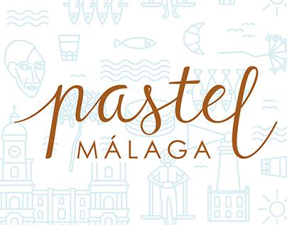 Pastel Málaga
