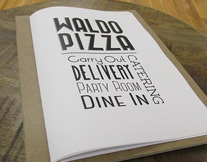 Waldo Pizza Menu