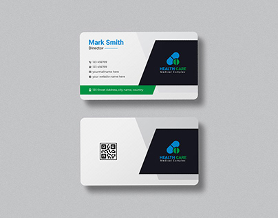 Medical & Healthcare Business Card Template