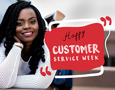 Metz: Customer service week artwork