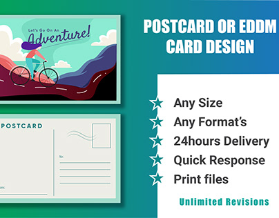 POSTCARD & EDDM CARD DESIGNS