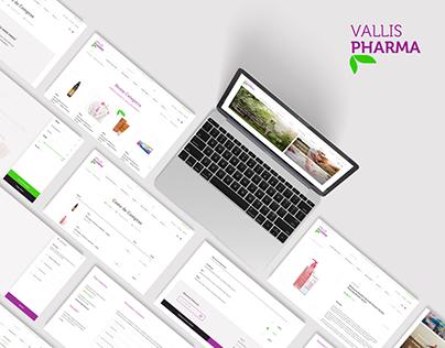 VallisPharma / Online Store Website