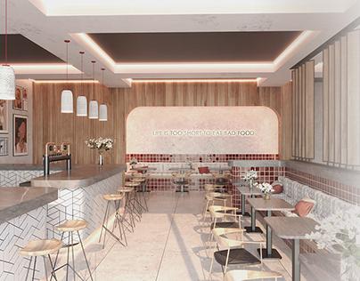 Cafe design concept