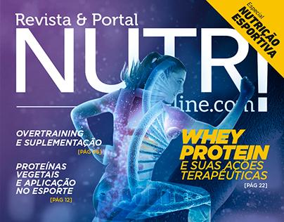 Capa - 6ª Ed. Revista Nutri On-line