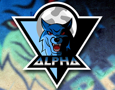 """(SOLD)Gaming Mascot Or E-Sports Logo For """"ALPHA"""" Team"""