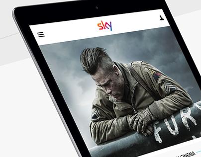 Sky.it | Redesign UI/UX