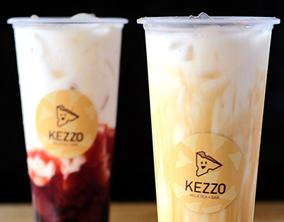 Kezzo Milk Tea + Bar | Brand Identity