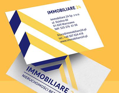 Immobiliare24 - website + business card