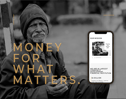 Landing page for The Change Company