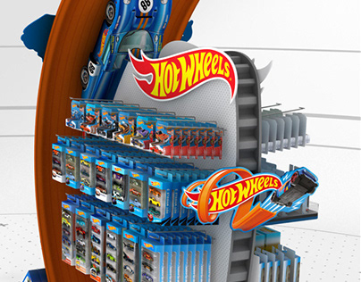 Hot Wheels stand
