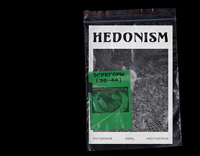 ZINE #5 ABOUT HEDONISM
