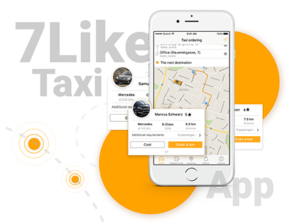 7Likes Taxi - Swiss taxi app