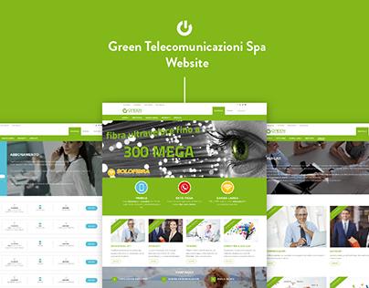 Green Telecomunicazioni - Website