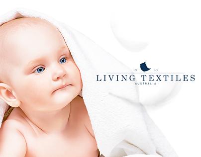 Living Textiles - Web Design