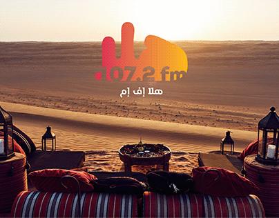 Hala FM rebranding