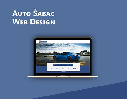 Web design - Car dealers/Auto Sabac
