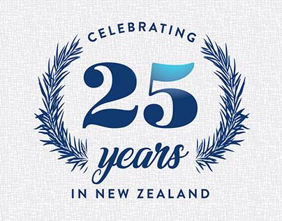 Rayonier Celebrating 25 Years In New Zealand