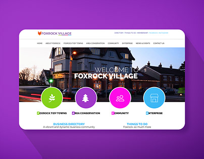 Website for Local Community Body