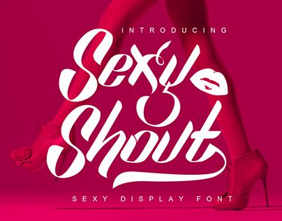 Sexy Shout Free Font