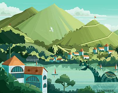 Riverland Illustrations