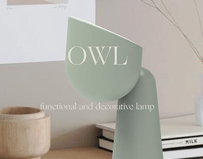 OWL - multifunctional lamp