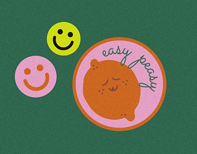 Sticker Illustrations
